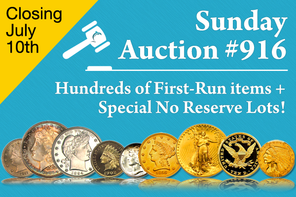 Auction 916 Now Open