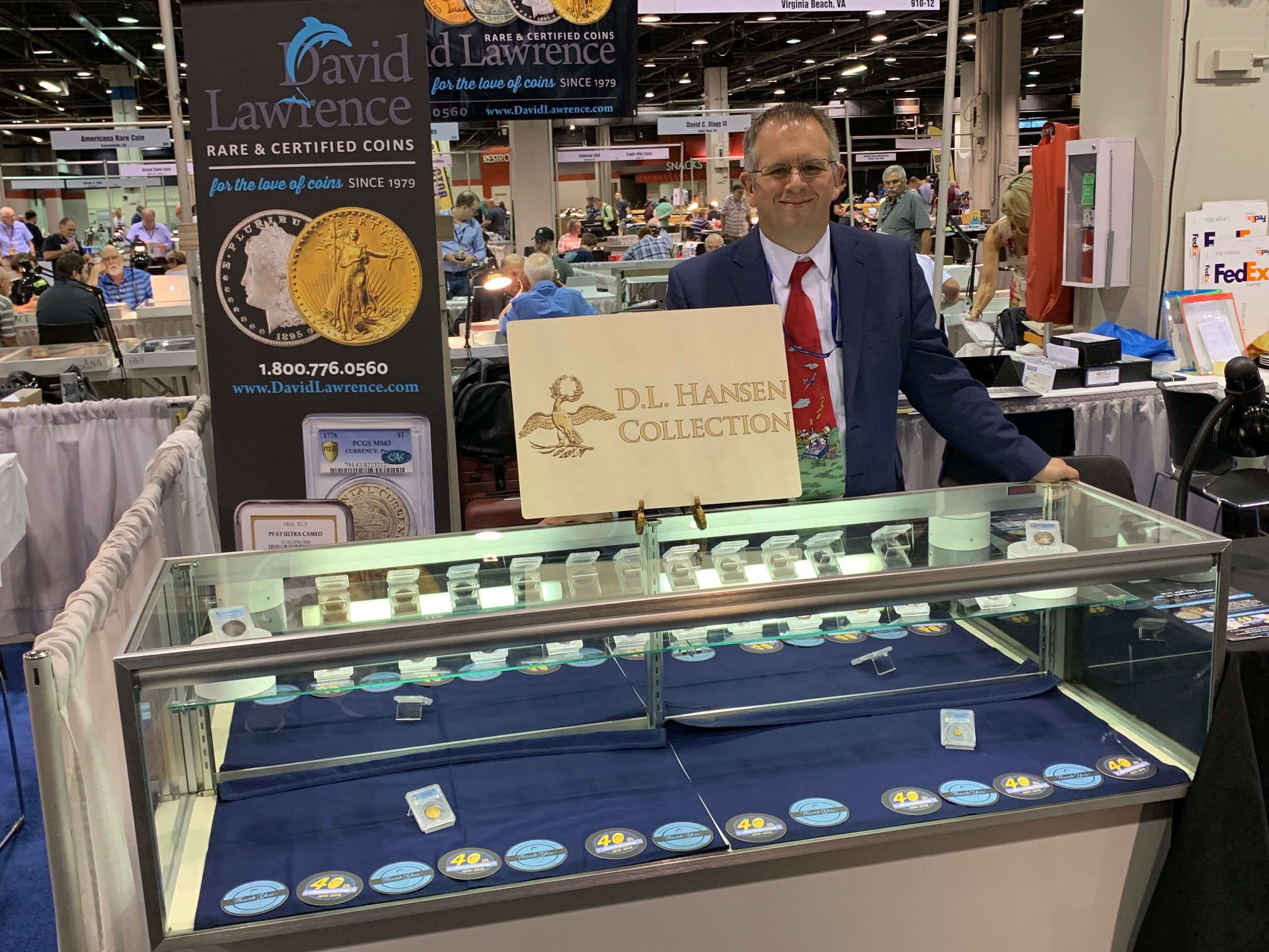 Another 1894-S Dime Finds Its Way Home: David Lawrence Rare Coins and D.L. Hansen Acquire Famous Numismatic Rarity