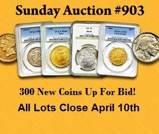 New Sunday Internet Auction #903 Live