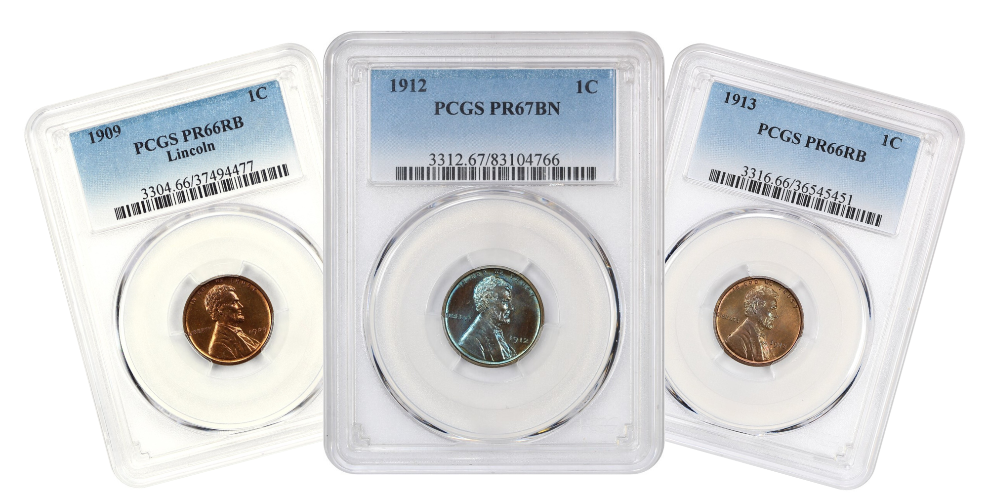 Matte Proof Lincoln Cents