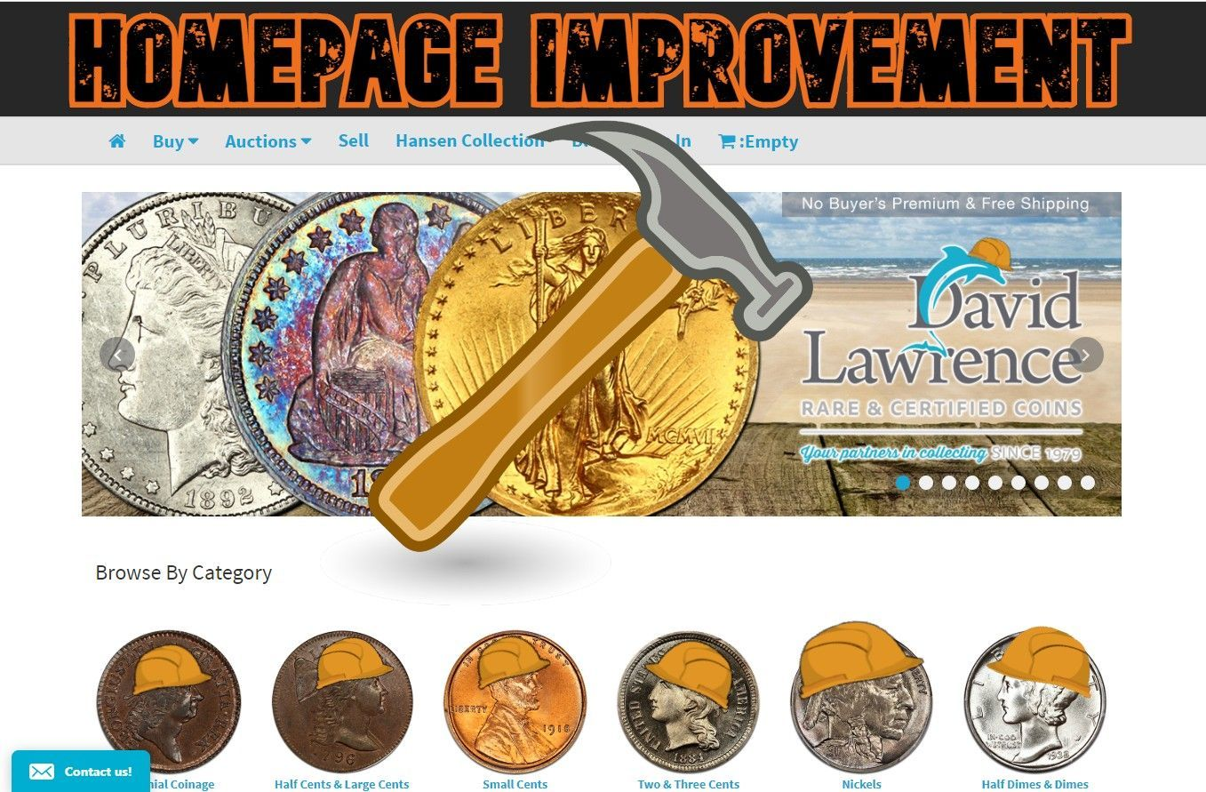 DLRC Homepage Improvement