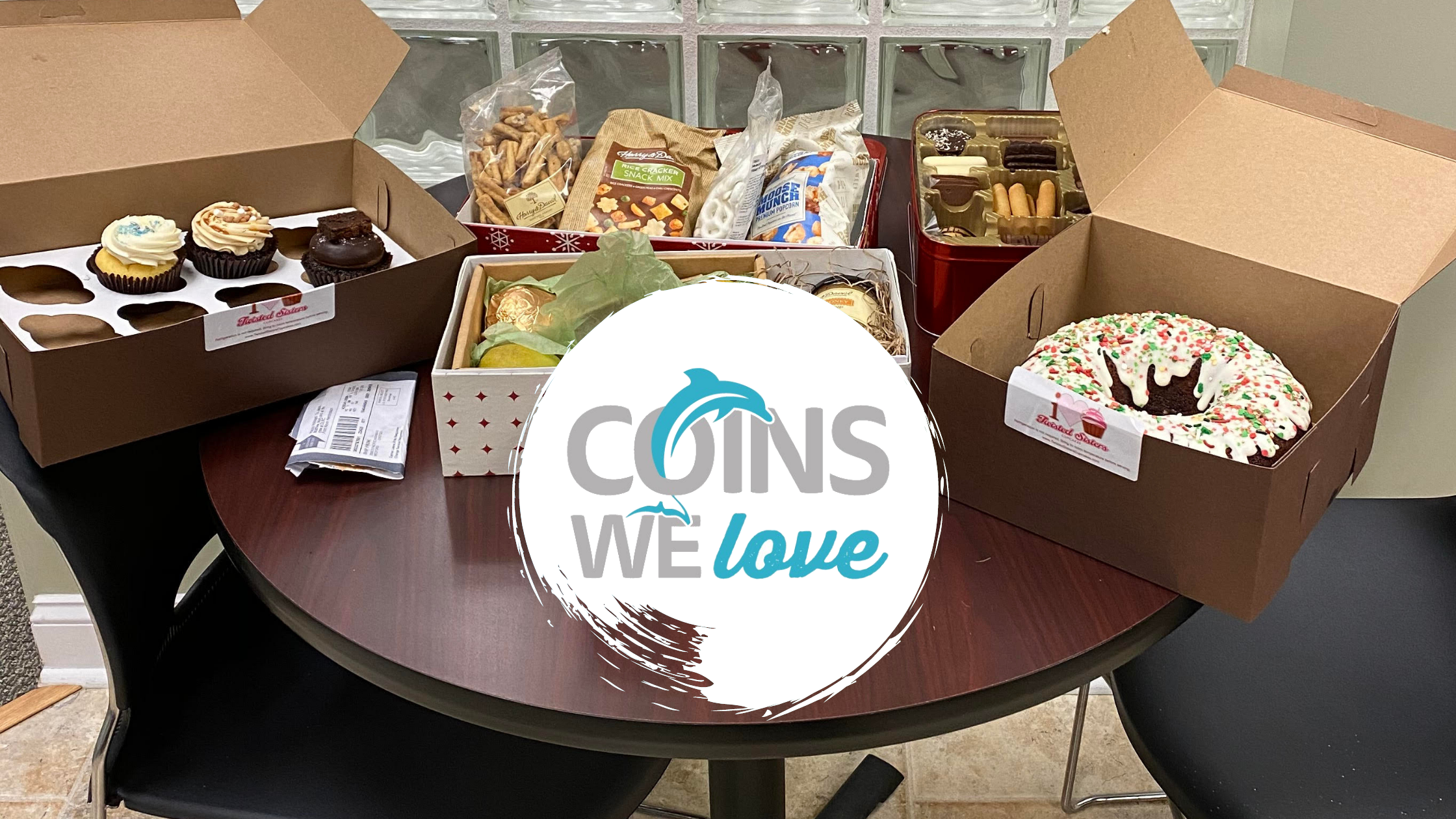 Coins We Love: Shipping Delays & Christmas Buffets