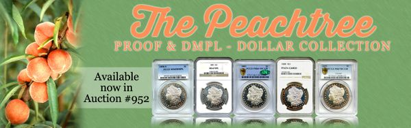 DLRC's Peachtree Collection of DMPL and Proof Morgan Dollars Auction Results over $600,000