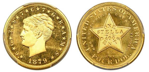 New Million Dollar Coin: David Lawrence Sells 1879 Coiled Hair Stella!