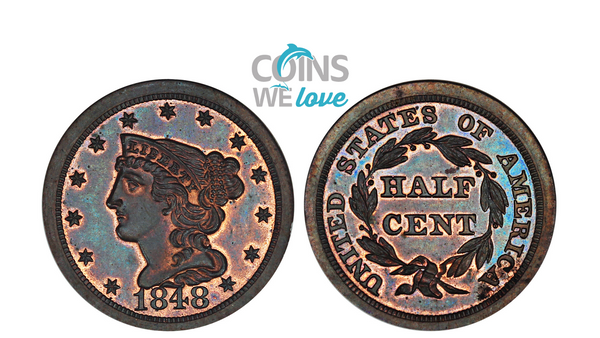 Coins We Love: Half Cent Heaven