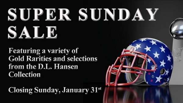 DLRC Presents: The Super Sunday Sale!